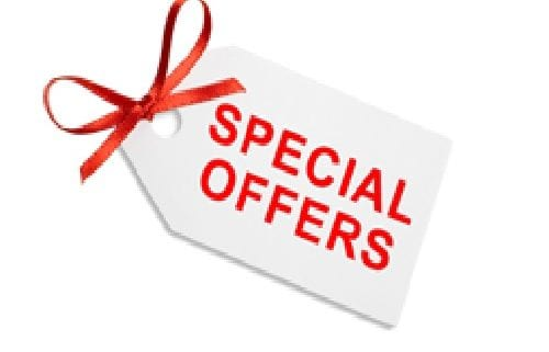 special offers at The Wood Place