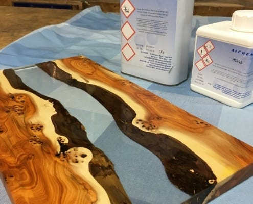 Alchemix EP 5242 Epoxy Resin system at The Wood Place
