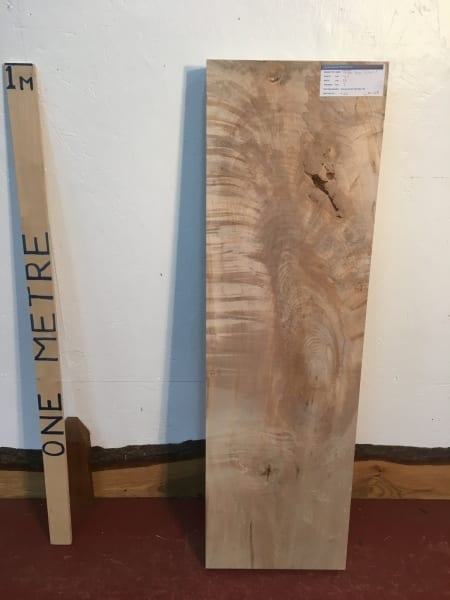 MAPLE 1270-1 PAR Planed All Round Square Edge Kiln Dried Seasoned Hardwood Timber Board Thickness 7cm